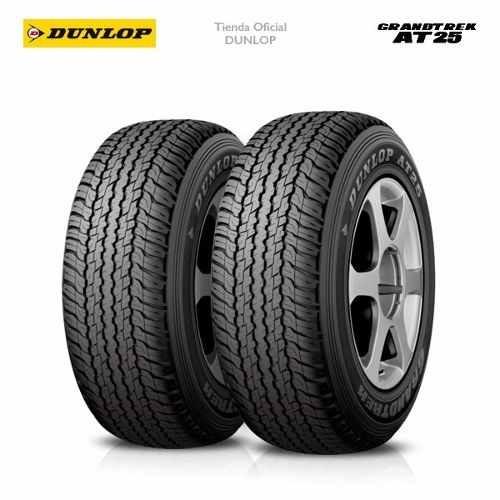 Kit X2 265/60 R18 Dunlop Grandtrek At25 + Tienda Oficial