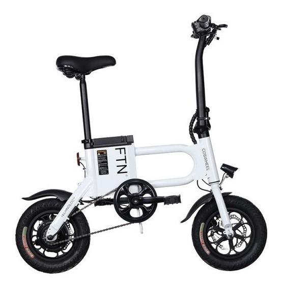 Bicicleta Eléctrica Coswheel - Ftn Pro Blanca