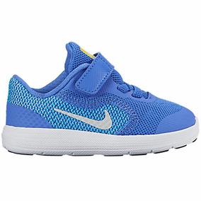 c104c163ef7 Tênis Nike Revolution 3 Azul Bebe Menino Original