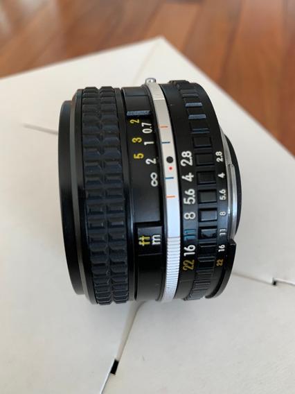 Objetiva Nikon Lens Series E 28mm 1:2.8