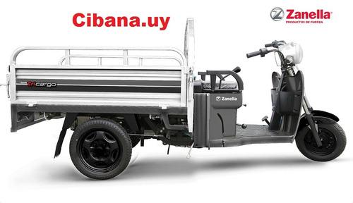 Tricilo Utilitario Zanella 125cc Samiautomatico 0km