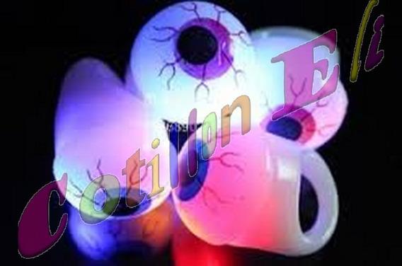 Halloween Anillos Luminosos Leds Ojo Salton X 10 Unidades