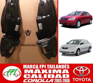 Guardapolvo Corolla 2003 2004 2005 2006 2007 2008 Original