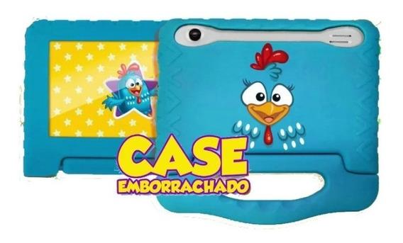 Capa Case Emborrachada P Tablet 7 Pol Galinha Multilaser