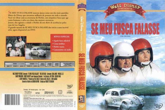 2 Dvds Se Meu Fusca Falasse - 1968 / 1997 - Dublado