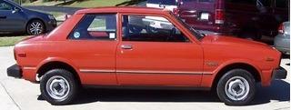 Toyota Tercel, Año 1980, Deportivo, Color Naranja, 3 Puertas