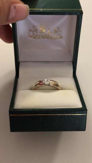 Anillo De Compromiso - Diamante