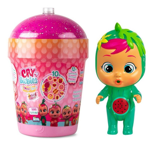 Muñeca Cry Babies Magic Tears Tutti Frutti