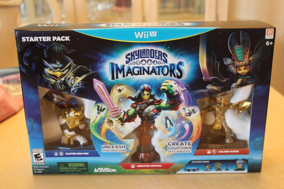 = Skylanders Imaginators Wiiu Pack Master King Pen Golden Qu