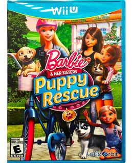 Barbie & Her Sisters Puppy Rescue Nuevo - Nintendo Wii U