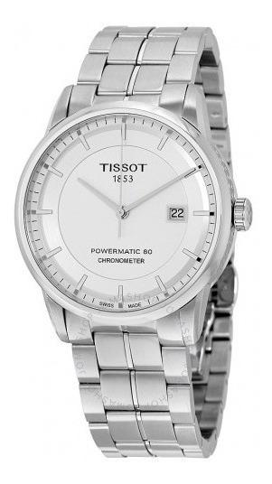Relógio Tissot Branc/aço Powermatic 80 Cronômetro Automático