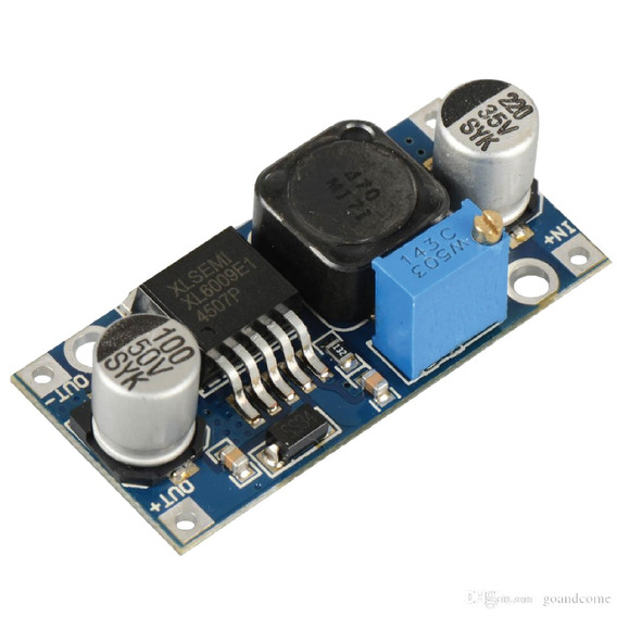 Fuente Xl6009 Step Up Dc Dc Ajustable 4.3v 32v Arduino