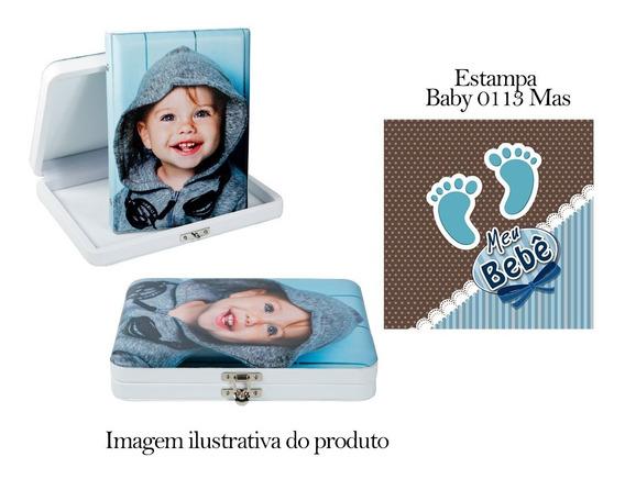 Álbum 15x21 Para 40 Fotos + Estojo Slim Sem Friso