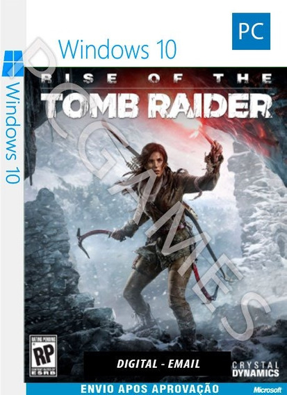 Rise Of The Tomb Raider - Pc Windows 10 - Online
