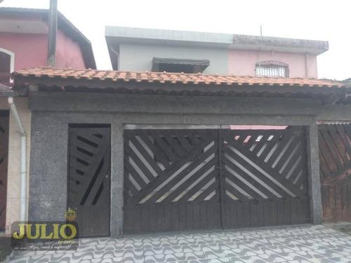 Imagem 1 de 13 de Sobrado À Venda, 80 M² Por R$ 220.000,00 - Balneario Arara Vermelha - Mongaguá/sp - So0826