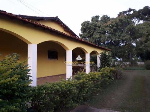 Imagem 1 de 30 de Chácara Com 5 Dormitórios À Venda, 3000 M² Por R$ 950.000,00 - Jardim Perlamar - Araçoiaba Da Serra/sp - Ch0001