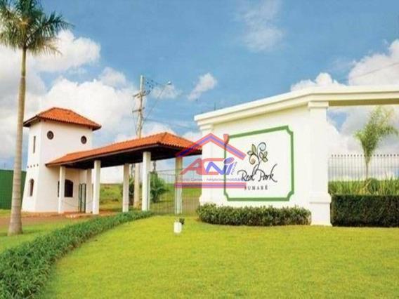Terreno À Venda, 250 M² Por R$ 185.000 - Condomínio Real Park - Sumaré/sp - Te0133
