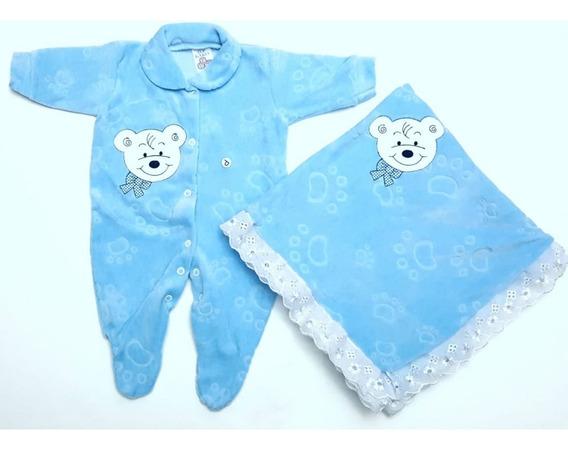 1 Kit De Saída De Maternidade Plush Promoção 2 Pçs