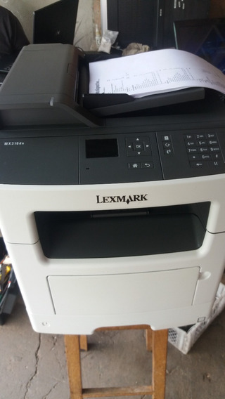 Impressora Multifuncional Lexmark Mx310dn 2 Toner Pra 10000