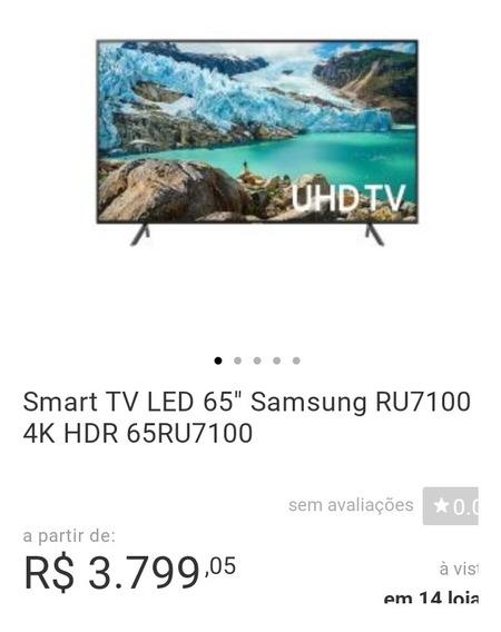 Smartv Samsung 65