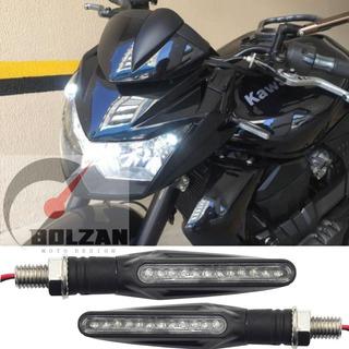 4 Setas Esportiva Moto Kawasaki Z300, Z650, Z750, Z800