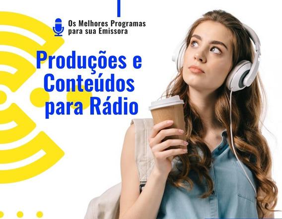 Pacote De 15 Programas Duração De Duas Horas Para Rádios
