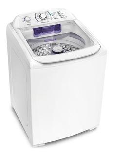 Lavadora de roupas automática Electrolux Premiun Care LPR16 branca 16kg 110V
