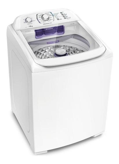 Lavadora de roupas automática Electrolux Premium Care LPR16 branca 16kg 110V