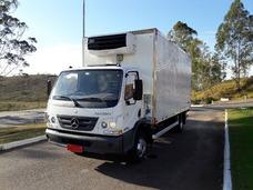Mercedes-benz Accelo 1016 Carrier Xarios 600 / Baú Ibiporã