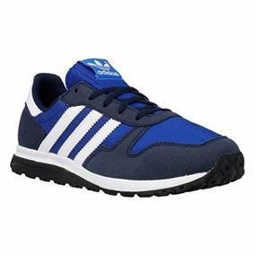 Tênis adidas Originals Sl Street K Azul Unisex Tamanho 32