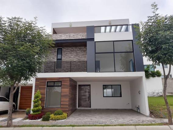 Casa Nueva En Venta 4 Recamaras Lomas De Angelopolis Parque Campeche