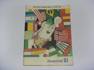 Revista Antiga Novalgina Copa 94 Hoechst Worldcup Usa 1994