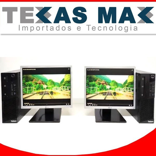 Desktop I5 Lenovo +ssd +monitor 17+mouse+teclado
