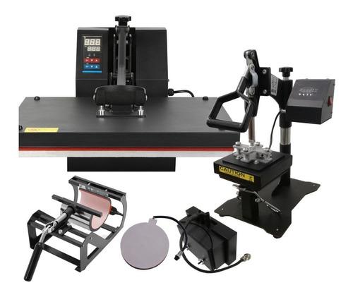 Estampadora sublimadora Addacor HP-5EN1 40x60  negra 220V