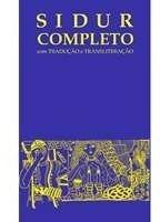 Livro Sidur Completo Jairo Fridlin - Novo