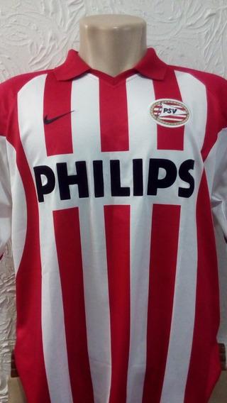 Camisa Psv Eindhoven Oficial Nike G 2002 Listrada Holanda