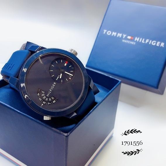 Relógio Tommy Hilfiger 1791556 Silicone Borracha Azul