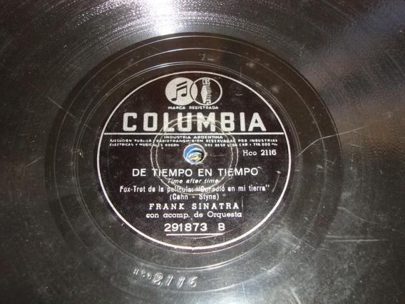 Disco Pasta 78 Rpm Frank Sinatra C38
