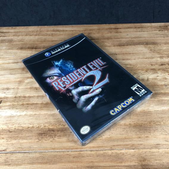 Resident Evil 2 Novo Lacrado P/ Gamecube!! Raridade