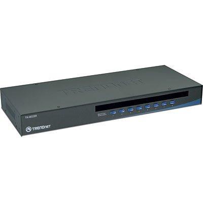 Kvm 8 Puertos Usb Tk-803r Trendnet -importador Oficial-