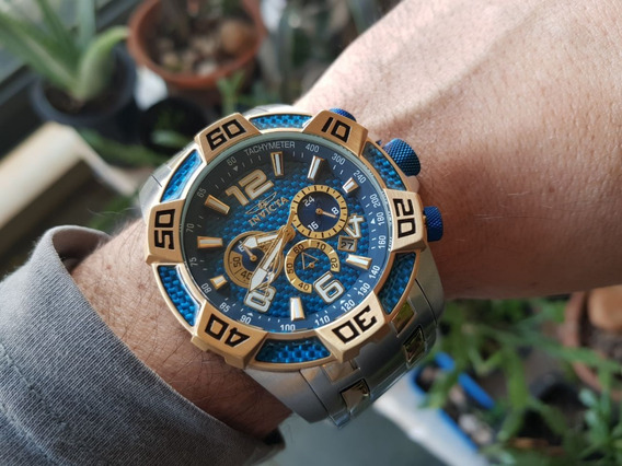 Relógio Invicta Pro Diver 25855 Plaque Misto Calendário