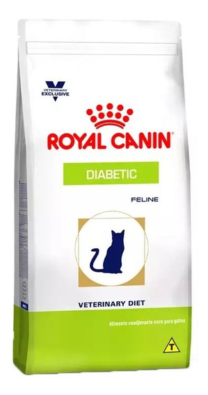 Ração Royal Canin Veterinary Diabetic Gatos 1,5kg