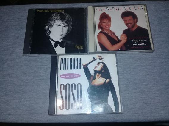 Lote Cds El Puma Rodriguez - Pimpinela - Patricia Sosa