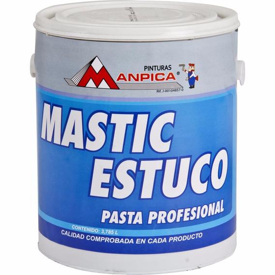 Mastic Estuco Pasta Profesional Manpica 1 Galón