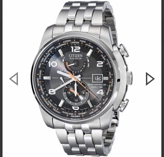 Relógio Citizen Eco-drive, World Time, Mod. At-9010-52e