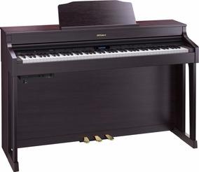 Piano Roland Rp501r Cr + Banqueta Bnc05 Na Cheiro De Musica