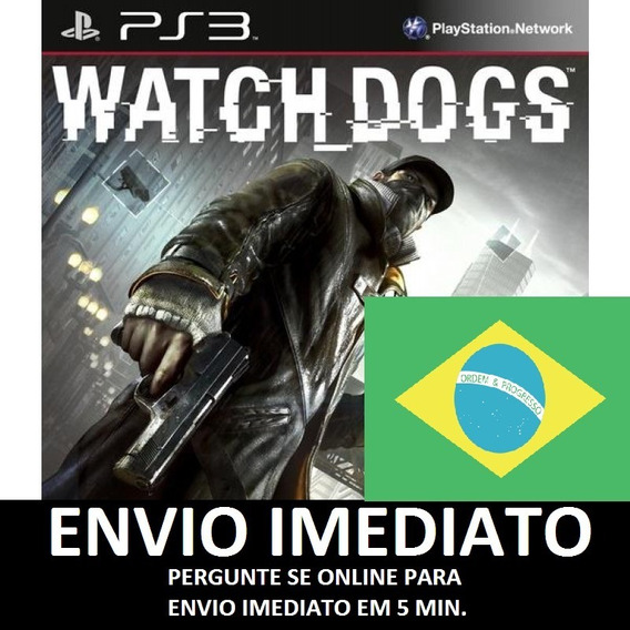 Watch Dogs Portugues Ps3 Psn - Midia Digital