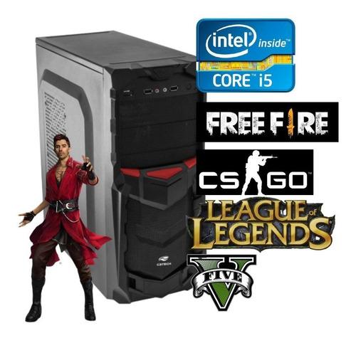 Imagem 1 de 1 de Pc Gamer Viph Computador I5 8gb, Ssd 120gb, Placa Vídeo 2gb