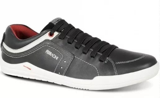 Sapato Sapatênis Ferracini Em Couro Frete Grátis