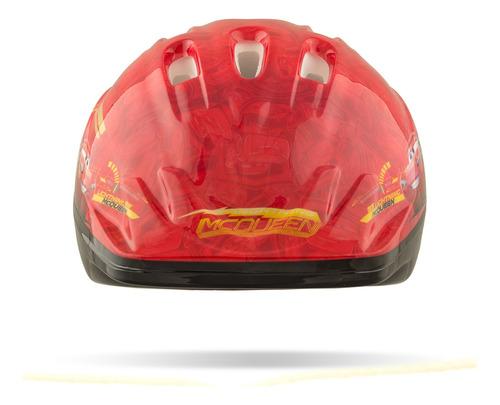 Casco De Niño Disney Cars Rojo